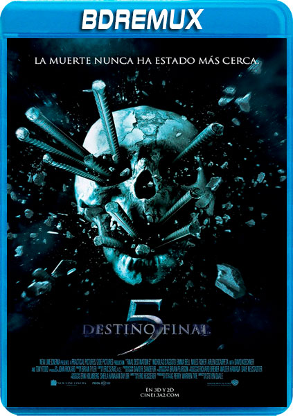 DESTINO FINAL 5 [BDREMUX 1080P][AC3 5.1 CASTELLANO-DTS 5.1 INGLES+SUBS][ES-EN] torrent